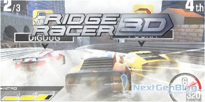 Ridge Racer 3D Testrr3d